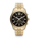 Afbeelding vanMichael Kors MK8286 - Lexington Chrono - Horloge dameshorloge horloge Goudkleur
