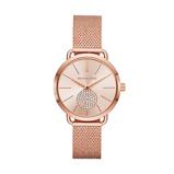 Afbeelding vanMichael Kors MK3845 Portia horloge dameshorloge horloge Rosekleur