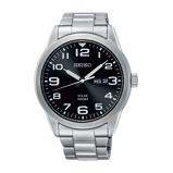Afbeelding vanSeiko SNE471P1 horloge herenhorloge Zilverkleur