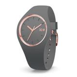 Afbeelding vanIce Watch IW015336 Glam Colour Grey Medium 40 mm dameshorloge horloge Grijs