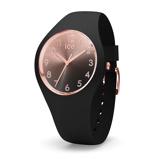 Afbeelding vanIce Watch IW015746 Sunset Black Small Forever horloge Zwart