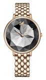 Afbeelding vanSwarovski 5416026 Champagne Gold Crystal Lake horloge dameshorloge Goudkleurig