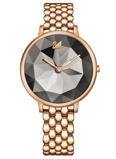 Afbeelding vanSwarovski 5416023 Roségold Crystal Lake horloge dameshorloge Rosekleur