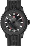 Afbeelding vanSwiss Military Hanowa 06 4281.27.007.30 herenhorloge zwart edelstaal PVD