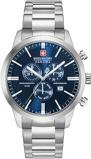 Afbeelding vanSwiss Military Hanowa 06 5308.04.003 herenhorloge blauw edelstaal