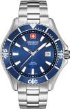 Afbeelding vanSwiss Military Hanowa 06 5296.04.003 herenhorloge blauw edelstaal
