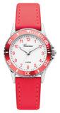 Afbeelding vanGaronne Q468 kids horloge (Kleur band: rood)