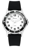 Afbeelding vanGaronne 465 kids horloge (Kleur band: zwart, Kleur wijzerplaat: wit)