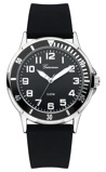 Afbeelding vanGaronne 465 kids horloge (Kleur band: zwart, Kleur wijzerplaat: zwart)
