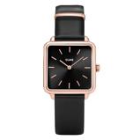 Afbeelding vanCLUSE La Garçonne CL60007 Black Rosé dameshorloge horloge Rosekleur,Zwart
