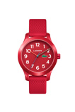 Afbeelding vanLacoste LC2030004 12. 12 KIDS horloge Rood Unisex 32 mm