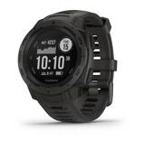 Afbeelding vanGarmin Instinct Graphite GPS 010 02064 00 Sporthorloge herenhorloge horloge Zwart
