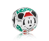 Afbeelding vanPandora 797502ENMX Disney Bedel zilver Santa Mickey