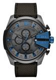 Afbeelding vanDiesel DZ4500 Mega Chief horloge herenhorloge Grijs
