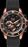 Afbeelding vanIce Watch IW016305 herenhorloge zwart edelstaal
