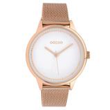 Afbeelding vanOOZOO C10094 Horloge Timepieces Collection staal rosekleurig 40 mm