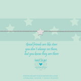 Afbeelding vanHeart To Get B105STA13S Bracelet Star Good Friends Are Like Stars, You