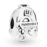 Afbeelding vanPandora 797859CZ Bedel zilver Adventure Bag