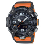 Afbeelding vanCasio G-Shock GG-B100-1A9ER - Master of G - Mudmaster horloge herenhorloge horloge Oranje,Zwart