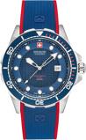 Afbeelding vanSwiss Military Hanowa 06 4315.04.003 herenhorloge blauw edelstaal