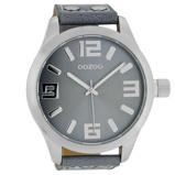 Afbeelding vanOOZOO C1010 Horloge Timepieces Collection aquagrey 51 mm