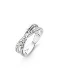 Afbeelding vanTi Sento 12020ZI zilveren ring met zirkonia