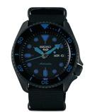 Afbeelding vanSeiko 5 Sports SRPD81K1 herenhorloge Automaat zwarte wijzerplaat 42,5 mm