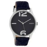 Afbeelding vanOOZOO C10377 Horloge Timepiece Collection Evening Blue Croco 45 mm