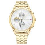 Afbeelding vanTommy Hilfiger TH1782121 Horloge Whitney staal goudkleurig 39 mm