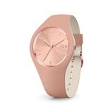 Afbeelding vanIce Watch IW016980 Duo chic horloge small dameshorloge Rosekleurig,Crème