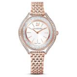 Afbeelding vanSwarovski 5519459 - Crystalline Aura - horloge dameshorloge horloge Rosekleur