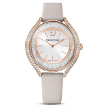 Afbeelding vanSwarovski 5519450 - Crystalline Aura - horloge dameshorloge horloge Rosekleur