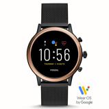 Afbeelding vanFossil Julianna Gen 5 FTW6036 Rosé Goud/Zwart slimme horloge