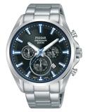 Afbeelding vanPulsar PT3A21X1 horloge herenhorloge Zilverkleur,Zwart