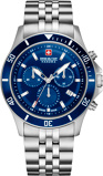 Afbeelding vanSwiss Military Hanowa Horloge 42 mm Stainless Steel 06 5331.04.003