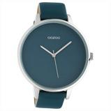 Afbeelding vanOOZOO C10571 Horloge Timepieces staal/leder Virridi Green 48 mm
