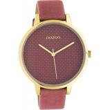 Afbeelding vanOOZOO C10591 Horloge Timepieces staal/leder oldpink 42 mm