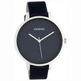 Afbeelding vanOOZOO C10594 Horloge Timepieces staal/leder black 42 mm
