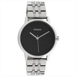 Afbeelding vanOOZOO C10556 Horloge Timepieces staal silver black 36 mm