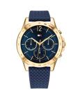 Afbeelding vanTommy Hilfiger TH1782198 horloge dameshorloge Goudkleurig,Blauw