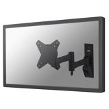 Afbeelding vanNewStar FPMA W832 flat panel muur steun Zwart