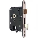 Afbeelding vanNemef 4109 veiligheids insteekslot met haakschoot DR. 2+4 doornmaat 50 PC 55 voorplaat afgerond SKG**