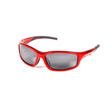 Afbeelding vanEffzett Polarized Sunglasses Red and black Polaroid zonnebril