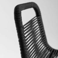Thumbnail of 2x LaForma Barstoel Glenville Zwart 74 cm